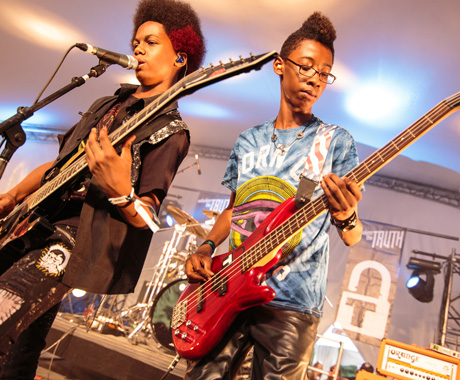 Unlocking the Truth Parc Jean-Drapeau, Montreal QC, August 9
