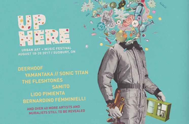 Sudbury's Up Here Festival Gets Deerhoof, Yamantaka // Sonic Titan for 2017 Edition