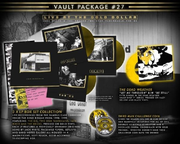 Jack White Collects Pre-White Stripes Projects in Latest Vault Release