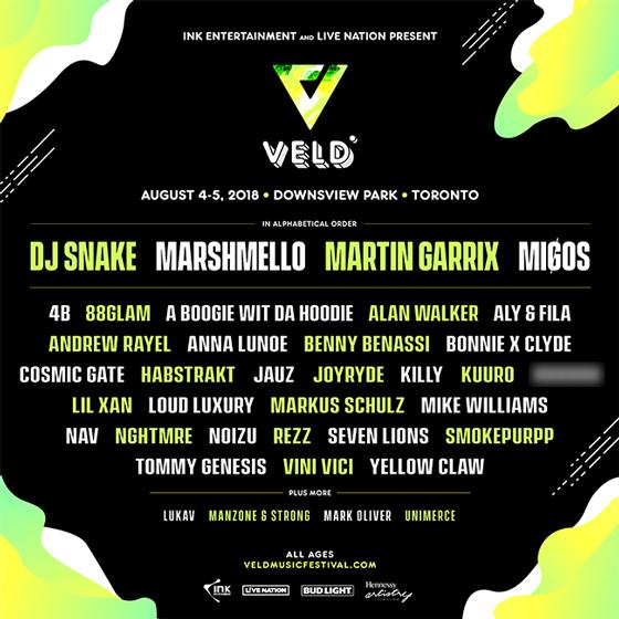 Veld Music Festival Adds NAV, Lil Xan, Smokepurpp to 2018 Lineup