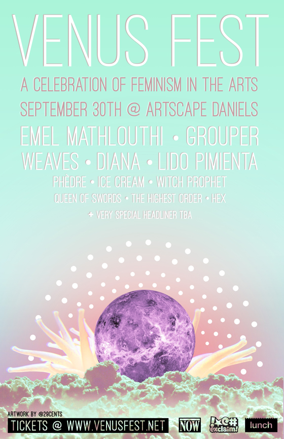 Toronto's Venus Fest Gets Emel Mathlouthi, Grouper, Weaves for Inaugural Edition