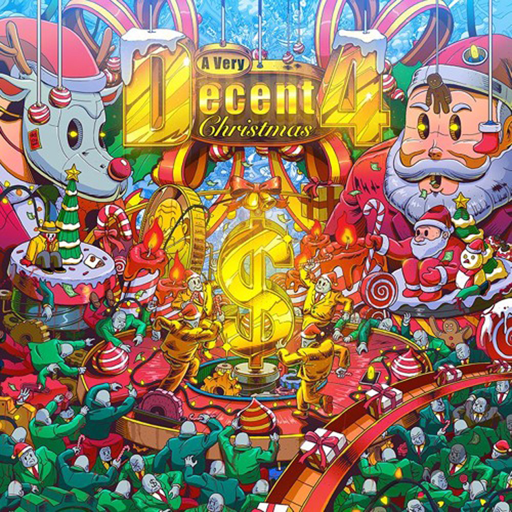 Mad Decent Gets in the Holiday Spirit with 'A Very Decent Christmas 4'
