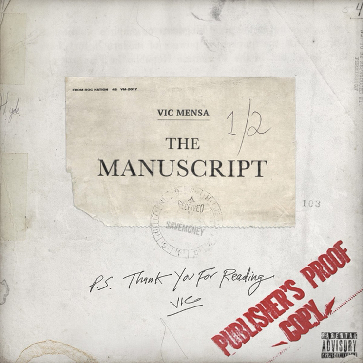 Vic Mensa Returns with 'The Manuscript'