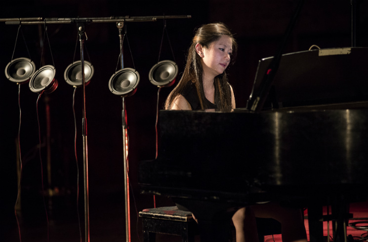 Vicky Chow performing Tristan Perich's 'Surface Image' The Music Gallery, Toronto ON, May 14