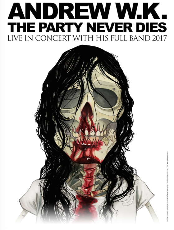 "Andrew W.K. Maps Out ""The Party Never Dies Tour"""