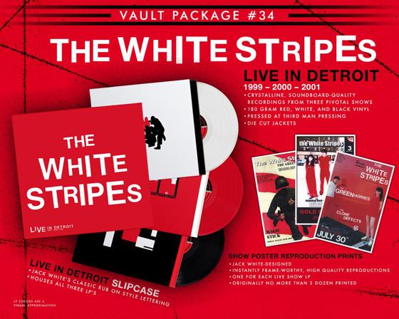 The White Stripes Announce 'Live in Detroit: 1999-2000-2001' Album