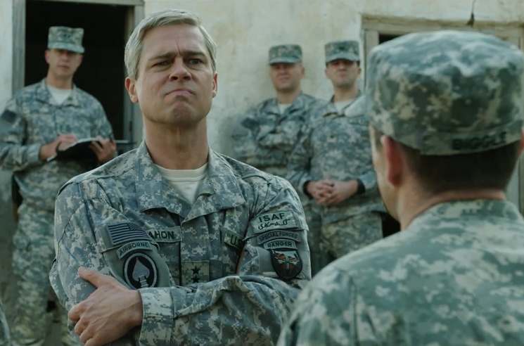 Brad Pitt Faces the Politics of War in a Second Trailer for 'War Machine'