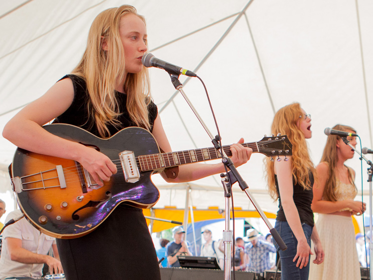 The Weather Station Lake Stage, Guelph ON, July 25