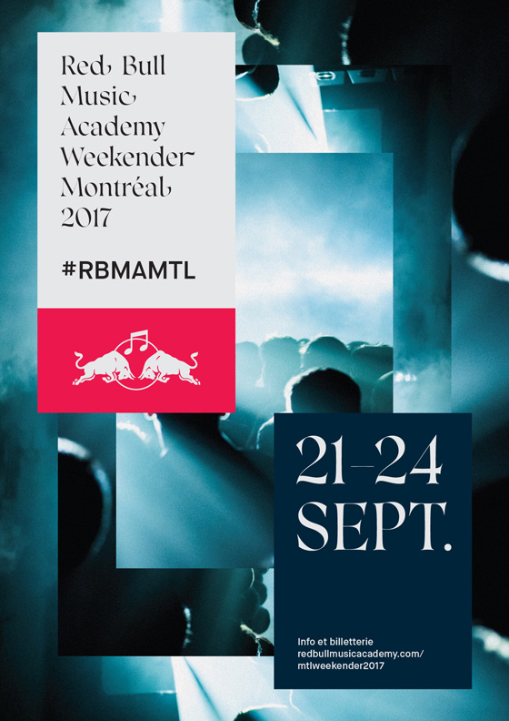 "Red Bull Music Academy Gets Rhye, Le1f,  Nadja for Montreal ""Weekender"" Event"