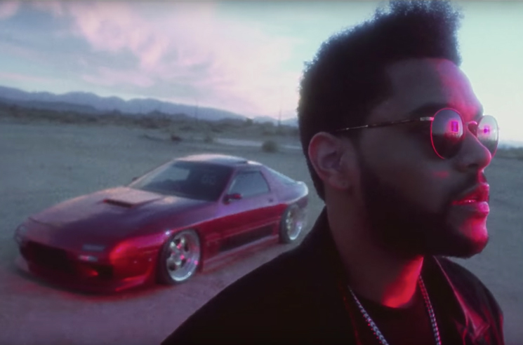 The Weeknd 'Party Monster' (video)