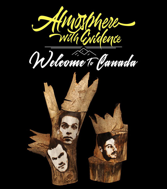 Atmosphere and Evidence Map Out Canadian Tour