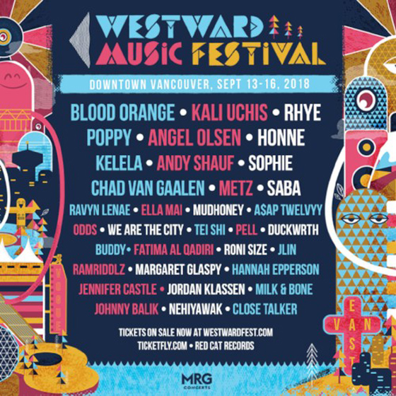 Vancouver's Westward Music Festival Adds Andy Shauf, SOPHIE to 2018 Lineup