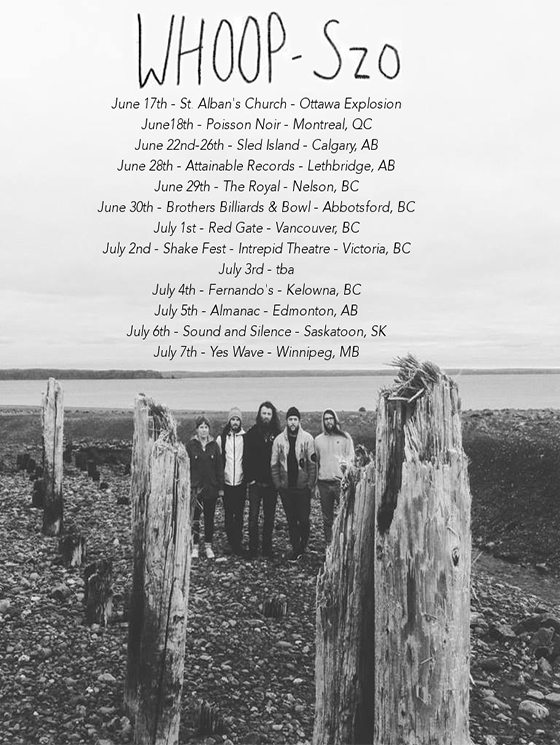 "WHOOP-Szo Head Out on Canadian Tour, Share ""Bmaadiziwin"""