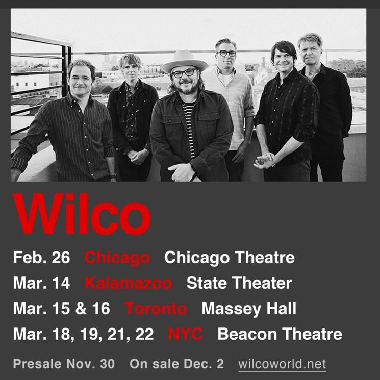 Wilco Return to Toronto on 2017 Tour