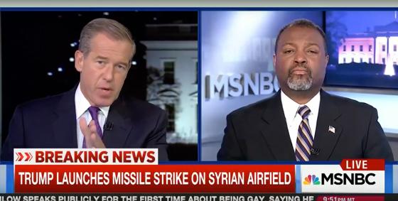 Brian Williams Slammed for Quoting Leonard Cohen Lyrics to Describe 'Beautiful' Syrian Airstrike