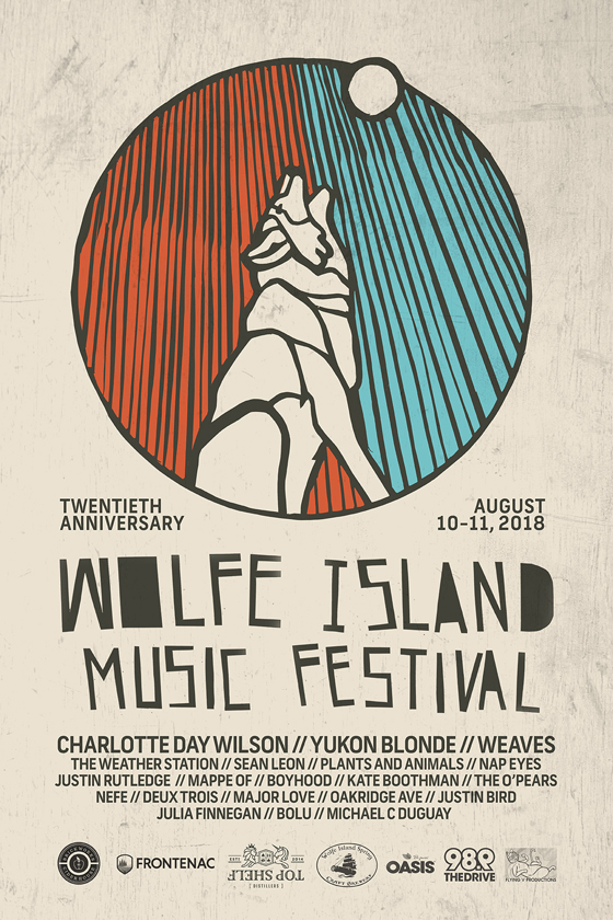 Wolfe Island Music Festival Gets Charlotte Day Wilson, Yukon Blonde, Weaves for 2018 Edition