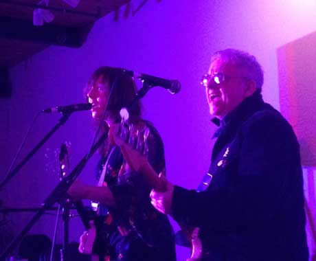 Wreckless Eric & Amy Rigby Rocket Room, St. John's NL, April 19