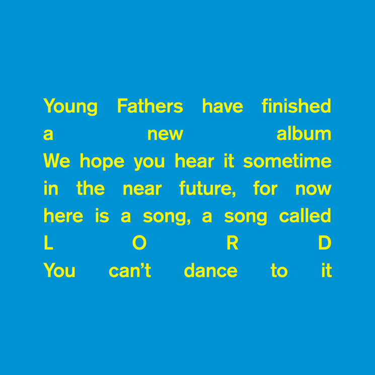 "Young Fathers Return with ""Lord,"" Tease New Album"