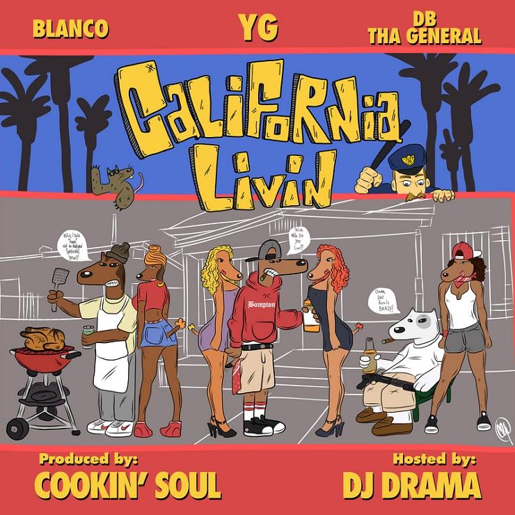 YG 'California Livin' (mixtape)