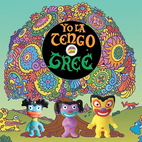 Yo La Tengo Re-imagined as Vinyl Figures for New Animated DVD Release