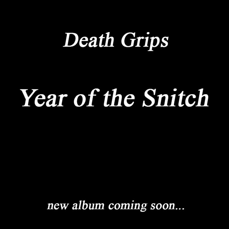 Death Grips Plot New Album 'Year of the Snitch'