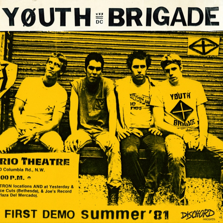 Early DC Punks Youth Brigade Remembered with Demo Collection