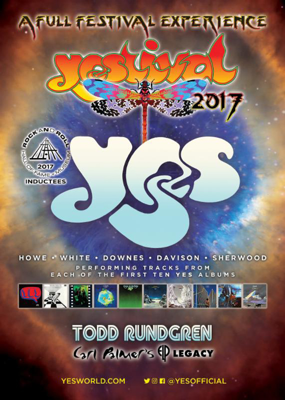 Yes and Todd Rundgren Add Canadian Dates to North American Tour