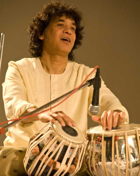 Zakir Hussain On the Music Beat