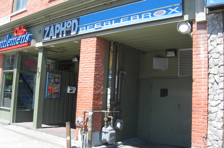 Ottawa's Zaphod Beeblebrox to Reopen as the 27 Club