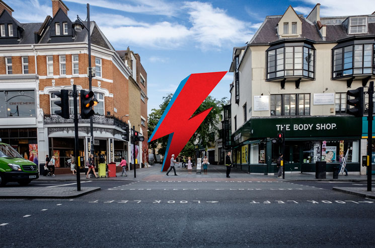 A Three-Storey David Bowie Lightning Bolt Could Soon Be Coming to His Birthplace