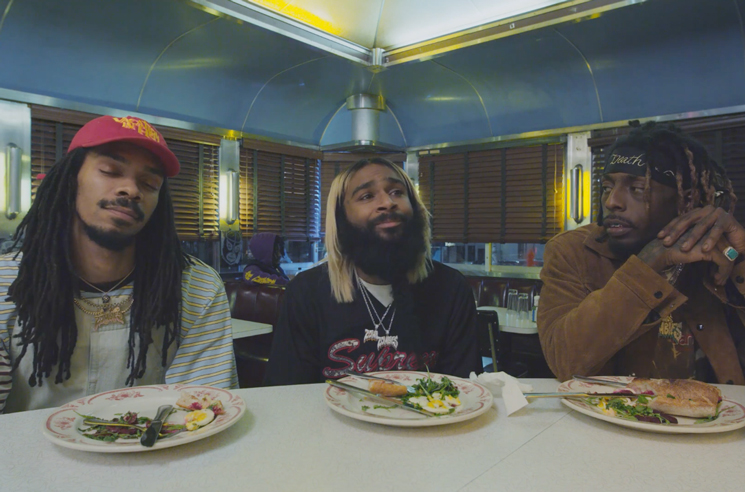 Watch Flatbush Zombies Get Release Day Advice from Lin-Manuel Miranda, Ice-T in 'Vacation (The-Movie)'