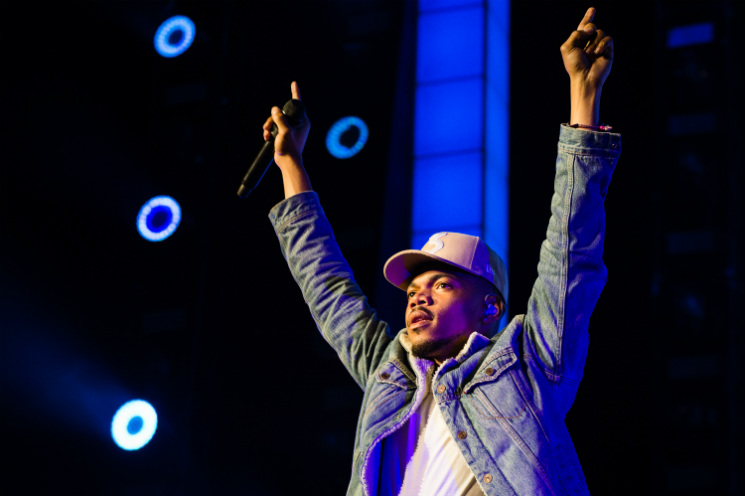 Chance the Rapper Budweiser Stage, Toronto ON, May 30