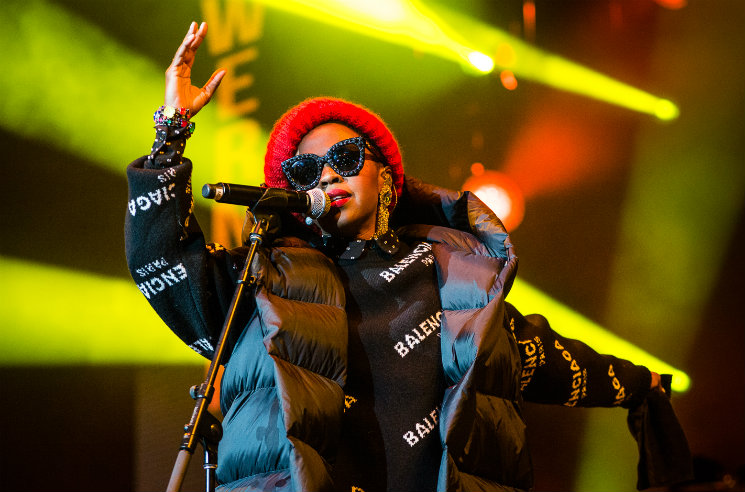 ​Lauryn Hill Drops Nas and Santigold from Tour