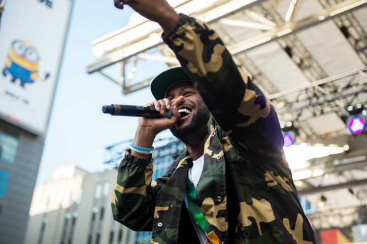 Casey Veggies Yonge & Dundas Square, Toronto ON, June 21