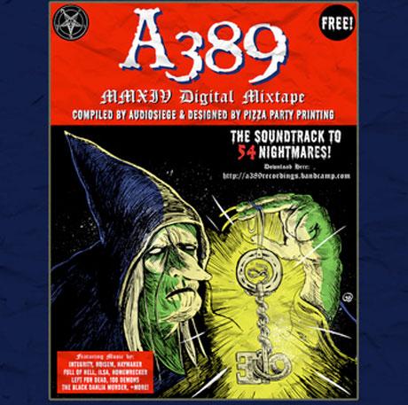 Various 'A389 2014 Digital Mixtape'