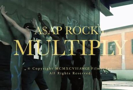 "A$AP Rocky ""Multiply"" (video)"