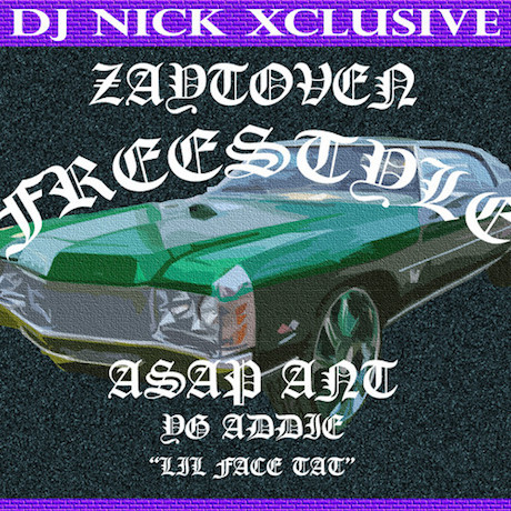 "A$AP Ant ""Zaytoven"" (freestyle)"