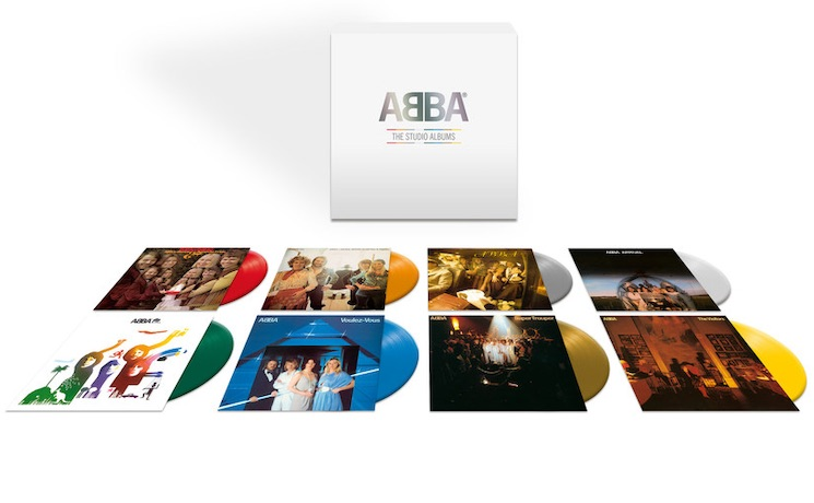 ABBA Are Releasing a Colour Vinyl Box Set
