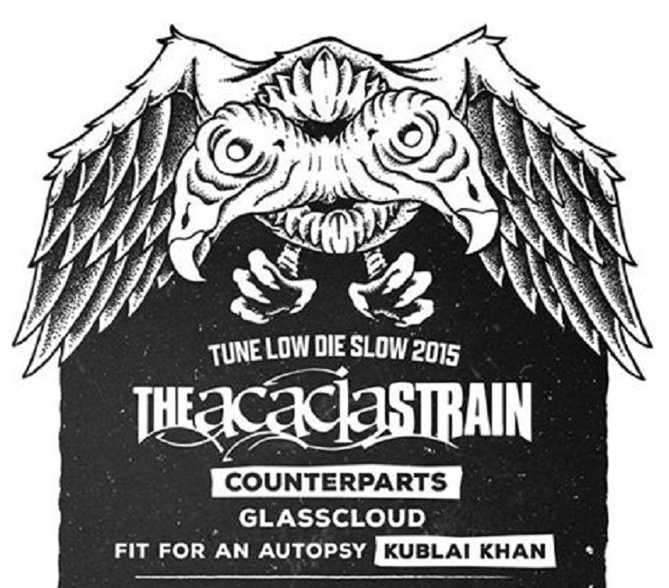 The Acacia Strain Announce Fall Tour with Counterparts, Glass Cloud