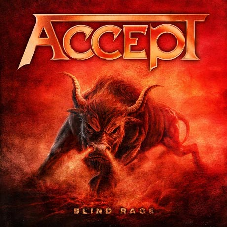 Accept Announce 'Blind Rage'