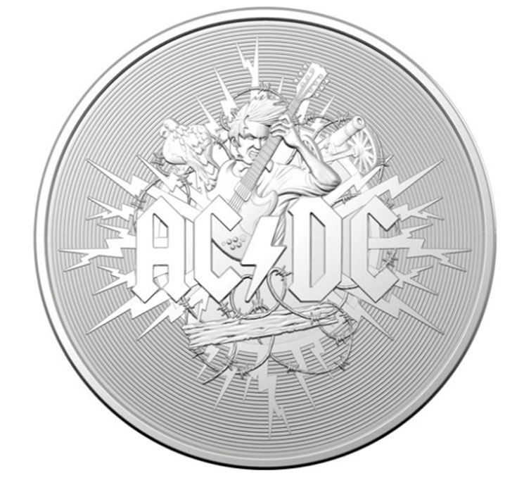 AC/DC Are Being Immortalized with a New Set of Australian Coins