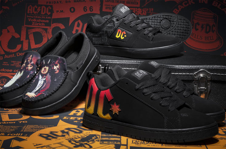 AC/DC Are Getting Their Own DC Shoes Collection