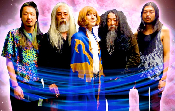 Acid Mothers Temple Team Up with Yamantaka // Sonic Titan for North American Tour