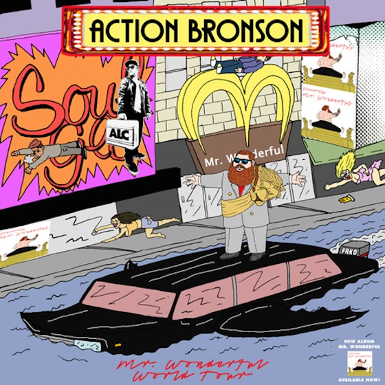 Action Bronson Takes 'Mr. Wonderful' on World Tour