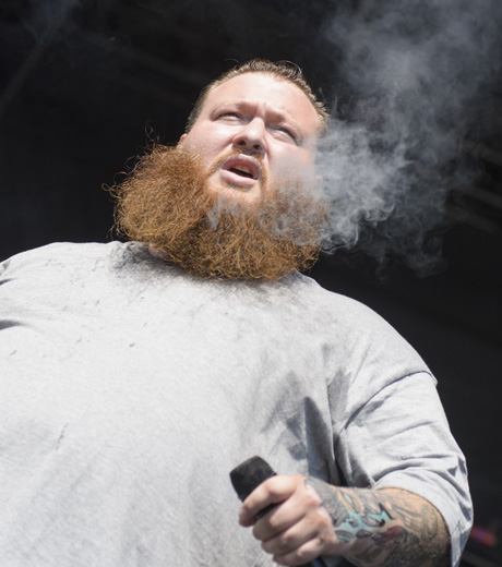 Action Bronson Claridge Stage, LeBreton Flats, Ottawa ON, July 12