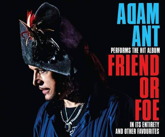 ​Adam Ant Maps Out North American 'Friend or Foe' Tour