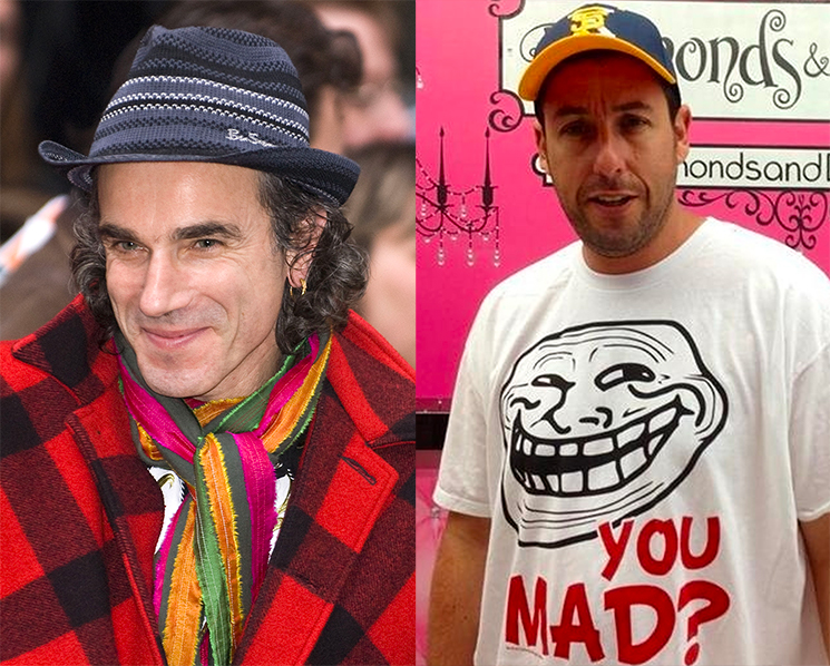 Daniel Day-Lewis Loved Adam Sandler in 'Uncut Gems' So Much That He Called Him to Congratulate Him for It