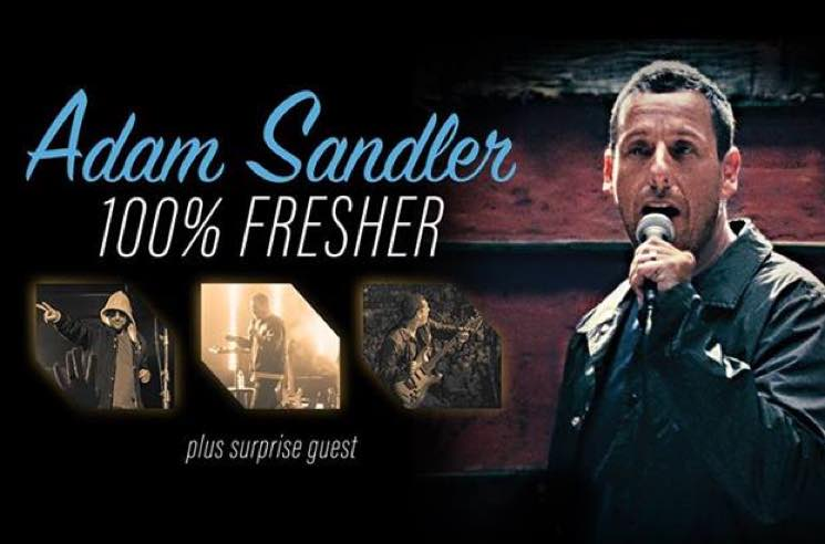 "Adam Sandler Announces ""100% Fresher"" North American Tour"