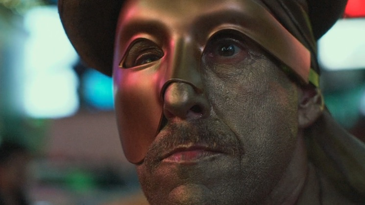 Adam Sandler made a secret film in disguise in Times Square