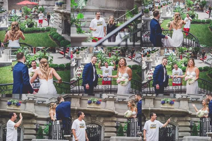 Adam Sandler Crashed a Wedding in Montreal